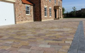 Picture of Indian Sandstone on a Driveway